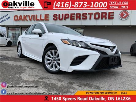 2019 Toyota Camry SE | B/U CAM | LEATHER | HTD SEATS | APPLE CARPLAY (Stk: DR009) in Oakville - Image 1 of 21