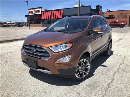 2020 Ford EcoSport Titanium (Stk: ET20478) in Barrie - Image 1 of 18