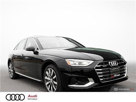 2020 Audi A4 2.0T Komfort (Stk: 9925) in Windsor - Image 1 of 30