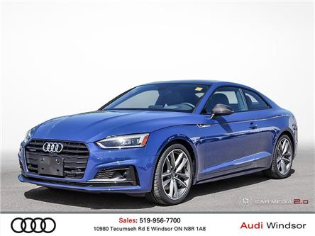 2019 Audi A5 45 Technik (Stk: 9705) in Windsor - Image 1 of 30