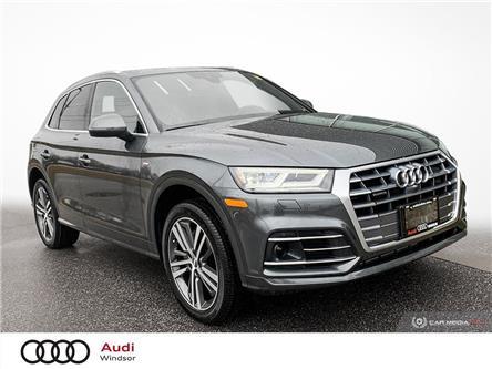 2020 Audi Q5 45 Technik (Stk: 9905) in Windsor - Image 1 of 30