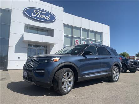 2020 Ford Explorer Platinum (Stk: 20134) in Perth - Image 1 of 21
