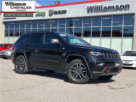 2019 Jeep Grand Cherokee Trailhawk (Stk: W6135) in Uxbridge - Image 1 of 28
