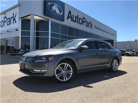 2014 Volkswagen Passat 2.0 TDI Highline (Stk: 14-09596JB) in Barrie - Image 1 of 26