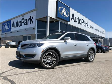 2016 Lincoln MKX Reserve (Stk: 16-54961MB) in Barrie - Image 1 of 30