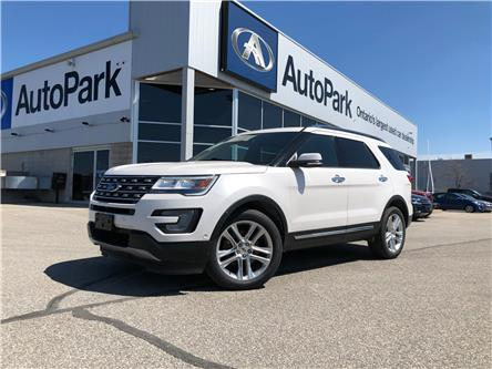 2017 Ford Explorer Limited (Stk: 17-72043JB) in Barrie - Image 1 of 34
