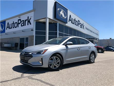 2020 Hyundai Elantra Preferred w/Sun & Safety Package (Stk: 20-30767RJB) in Barrie - Image 1 of 26
