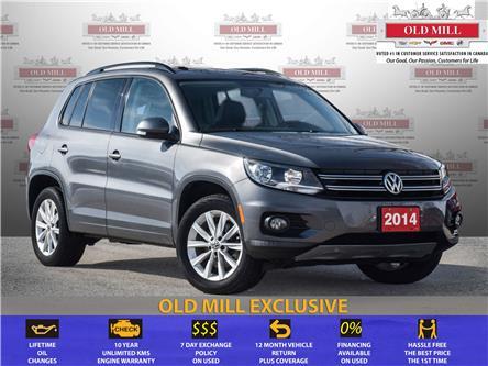 2014 Volkswagen Tiguan Comfortline (Stk: 595525U) in Toronto - Image 1 of 17