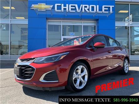 2019 Chevrolet Cruze Premier (Stk: X8158) in Ste-Marie - Image 1 of 28