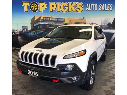 2016 Jeep Cherokee Trailhawk (Stk: 299235) in NORTH BAY - Image 1 of 28