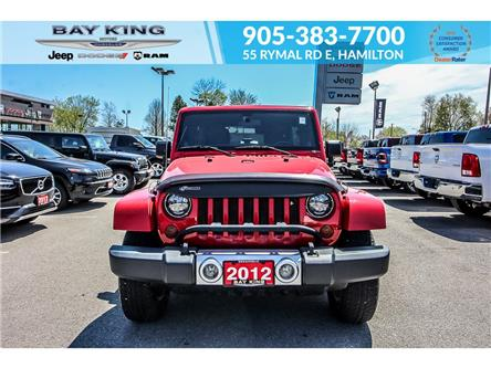 2012 Jeep Wrangler Unlimited Sahara (Stk: 6710RC) in Hamilton - Image 1 of 19