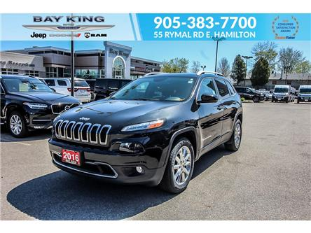 2016 Jeep Cherokee Limited (Stk: 193650A) in Hamilton - Image 1 of 22