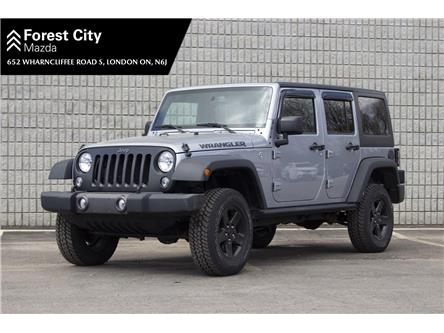 2016 Jeep Wrangler Unlimited Sport (Stk: PM0180) in London - Image 1 of 21