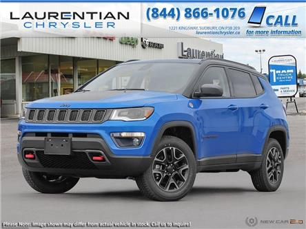 2020 Jeep Compass Trailhawk (Stk: 20319) in Sudbury - Image 1 of 23