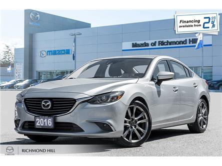 2016 Mazda MAZDA6 GT (Stk: 19-764DTA) in Richmond Hill - Image 1 of 20