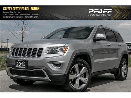 2015 Jeep Grand Cherokee Limited (Stk: LU8786) in London - Image 1 of 22
