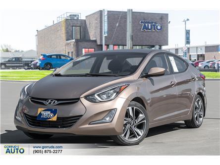 2016 Hyundai Elantra GLS (Stk: 484012) in Milton - Image 1 of 20