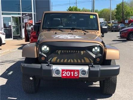 2015 Jeep Wrangler Unlimited Sahara (Stk: 211642) in Gloucester - Image 1 of 20