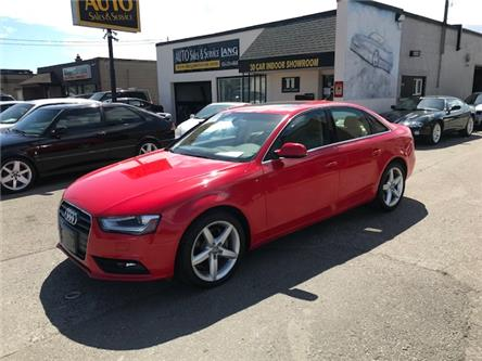 2014 Audi A4 2.0 Progressiv (Stk: ) in Etobicoke - Image 1 of 19