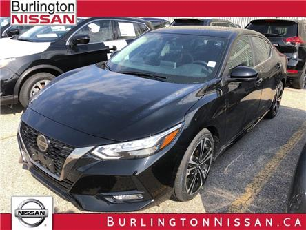 2020 Nissan Sentra SR (Stk: Z6112) in Burlington - Image 1 of 5