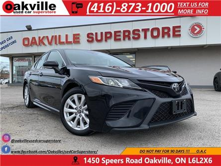 2019 Toyota Camry SE | B U CAM | LEATHER | HTD SEATS | APPLE CARPLAY (Stk: DR010) in Oakville - Image 1 of 22