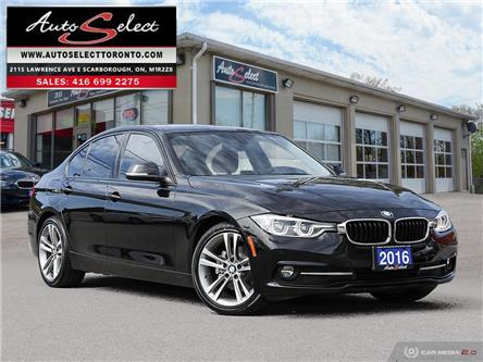 2016 BMW 320i xDrive (Stk: 1RK291W) in Scarborough - Image 1 of 28