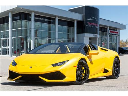 2016 Lamborghini Huracan Spyder LP 610-4|NAV|BACKUP CAM|HEATED SEATS|602 HP|CLEAN! (Stk: 20HMS413) in Mississauga - Image 1 of 31