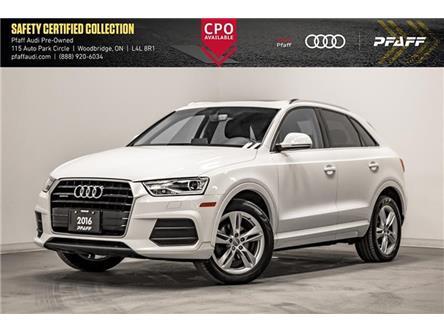 2016 Audi Q3 2.0T Progressiv (Stk: C7504) in Vaughan - Image 1 of 22