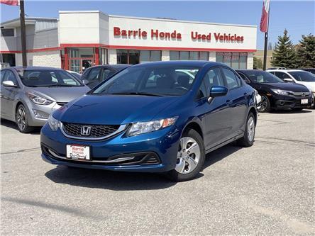 2015 Honda Civic LX (Stk: U15043) in Barrie - Image 1 of 20