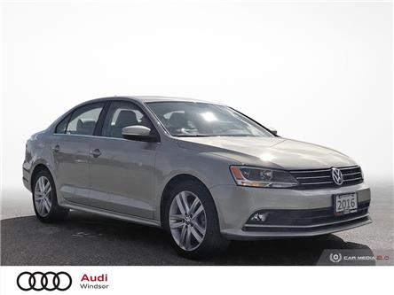 2016 Volkswagen Jetta 1.8 TSI Highline (Stk: 993411) in Windsor - Image 1 of 26