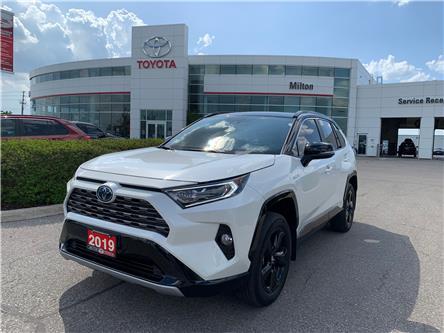 2019 Toyota RAV4 Hybrid XLE (Stk: 021888A) in Milton - Image 1 of 11