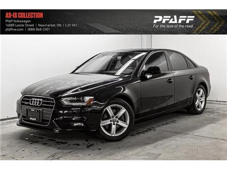 2013 Audi A4 2.0T (Stk: V5062A) in Newmarket - Image 1 of 22
