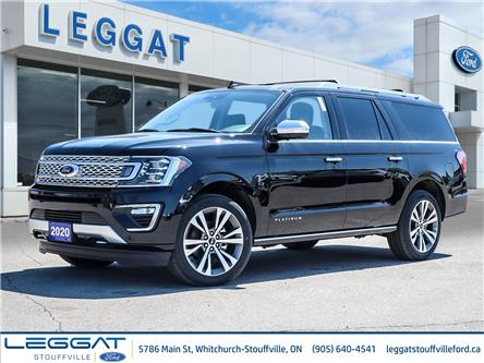 2020 Ford Expedition Max Platinum (Stk: 20-43-095) in Stouffville - Image 1 of 24