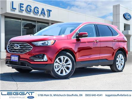 2020 Ford Edge Titanium (Stk: 20-32-028) in Stouffville - Image 1 of 22