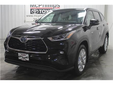 2020 Toyota Highlander Hybrid Limited (Stk: S001710) in Winnipeg - Image 1 of 20