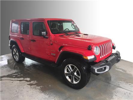 2019 Jeep Wrangler Unlimited Sahara (Stk: BB0511) in Stratford - Image 1 of 19