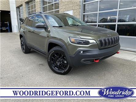 2019 Jeep Cherokee Trailhawk (Stk: LK-52B) in Calgary - Image 1 of 22
