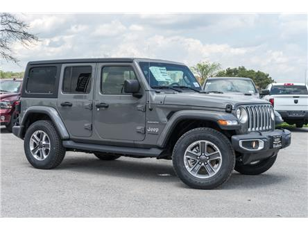 2020 Jeep Wrangler Unlimited Sahara (Stk: 33731) in Barrie - Image 1 of 24