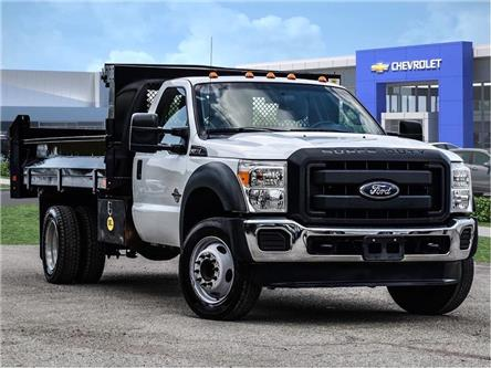2014 Ford F-550SD XL- DEL DUMPBODY-4 NEW REAR TIRES- GOOD BRAKES- 1 (Stk: 248099A) in Markham - Image 1 of 24