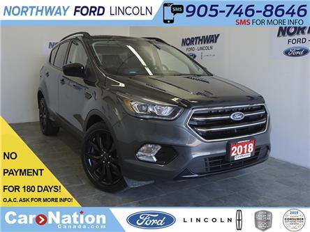 2018 Ford Escape SE | LEATHERETTE | TOUCHSCREEN | SPORT PACKAGE (Stk: B91620) in Brantford - Image 1 of 31