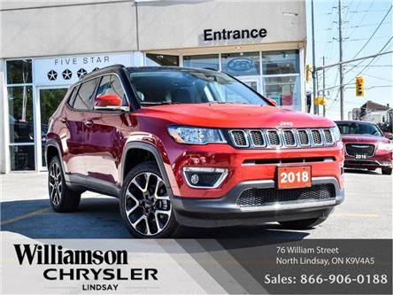 2018 Jeep Compass Limited (Stk: U1015) in Lindsay - Image 1 of 29