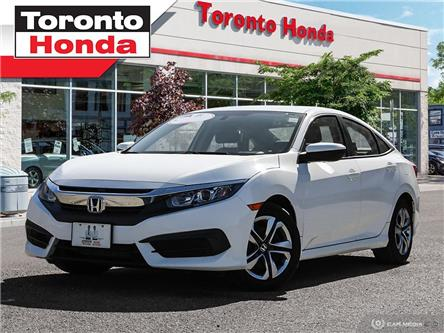 2016 Honda Civic Sedan LX (Stk: H40216T) in Toronto - Image 1 of 27