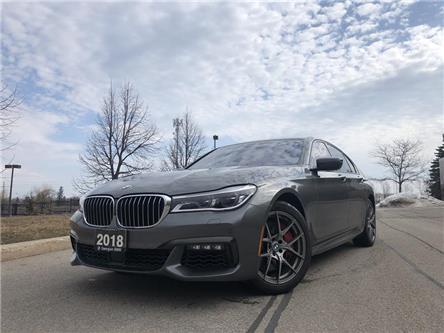 2018 BMW 750i xDrive (Stk: B20088-1) in Barrie - Image 1 of 22