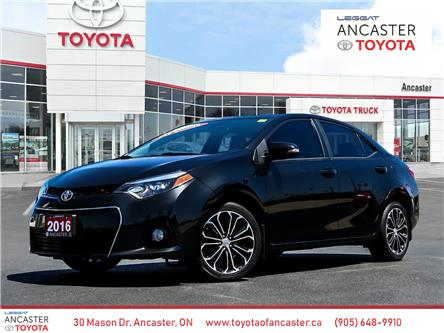 2016 Toyota Corolla S (Stk: 3975) in Ancaster - Image 1 of 26