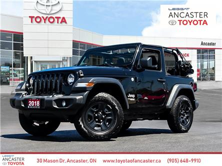 2018 Jeep Wrangler Sport (Stk: P173A) in Ancaster - Image 1 of 24