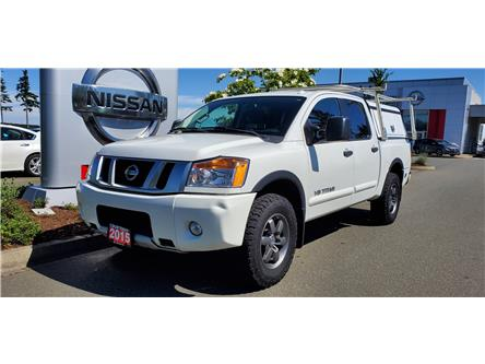2015 Nissan Titan PRO-4X (Stk: U0022) in Courtenay - Image 1 of 8
