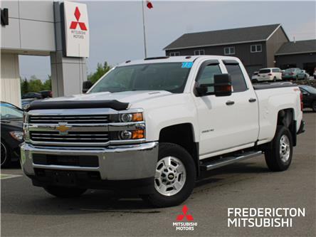 2018 Chevrolet Silverado 2500HD WT (Stk: 200625A) in Fredericton - Image 1 of 9
