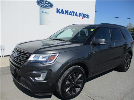 2017 Ford Explorer XLT (Stk: 19-12101) in Kanata - Image 1 of 12