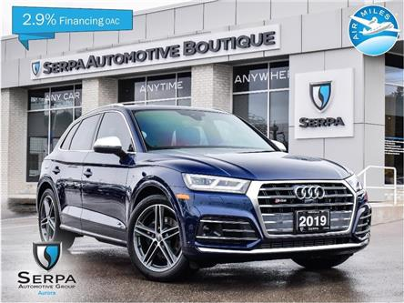 2019 Audi SQ5 3.0T Technik (Stk: C1024) in Aurora - Image 1 of 29