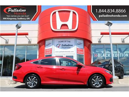 2018 Honda Civic EX (Stk: 22211A) in Greater Sudbury - Image 1 of 38